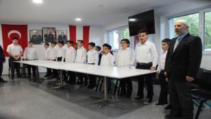 ATF Kur'an-ı Kerim bülbülleri mezun oldu
