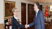 Avusturya Büyükelçisi Tilly'den ATO'ya Ziyaret