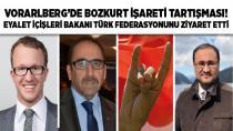 Vorarlberg'te Bozkurt işareti tartışması!